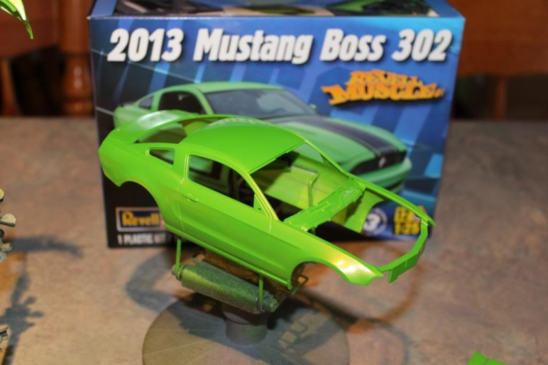 """Color Match pour """"Gotta Have It Green"""" du Revell 2013 Boss 302 Img_5711"""