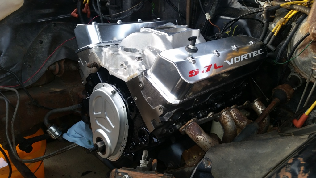 Vortec Head 350 Project Build 20150112