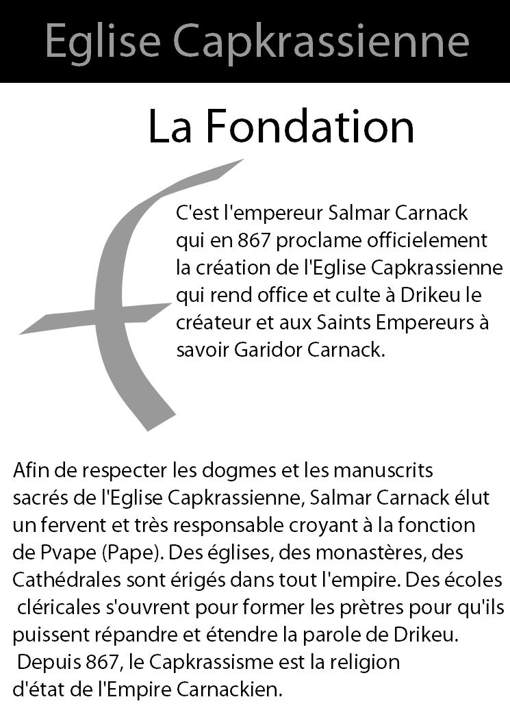 Eglise Capkrassienne  Fondat10