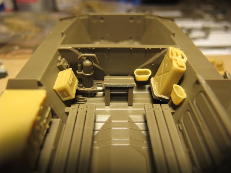 M20 du 807th Tank Destroyer Bataillon et Jeep blindée, 1945 - 1/35 Img_5835