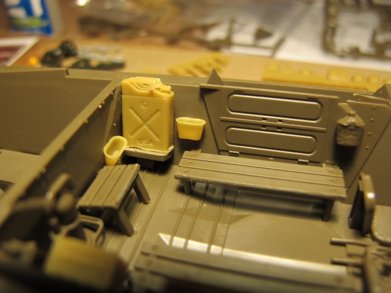 M20 du 807th Tank Destroyer Bataillon et Jeep blindée, 1945 - 1/35 Img_5836
