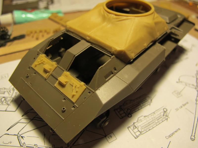 M20 du 807th Tank Destroyer Bataillon et Jeep blindée, 1945 - 1/35 Img_5846