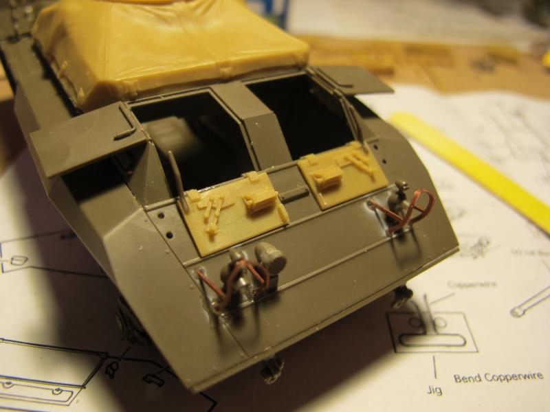 M20 du 807th Tank Destroyer Bataillon et Jeep blindée, 1945 - 1/35 Img_5849
