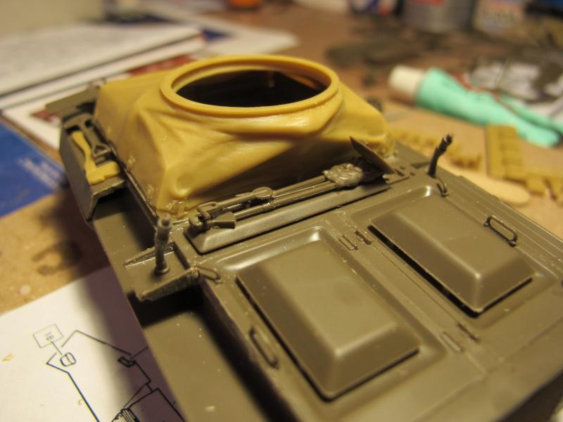 M20 du 807th Tank Destroyer Bataillon et Jeep blindée, 1945 - 1/35 Img_5850