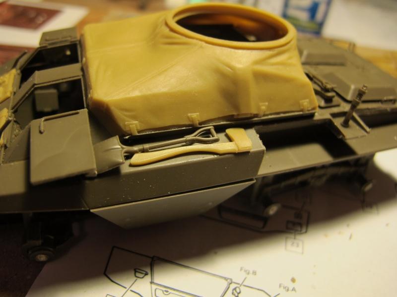 M20 du 807th Tank Destroyer Bataillon et Jeep blindée, 1945 - 1/35 Img_5851