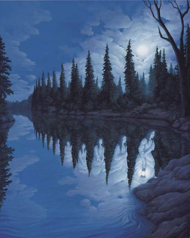 illusions d'optique par Robert Gonsalves 110