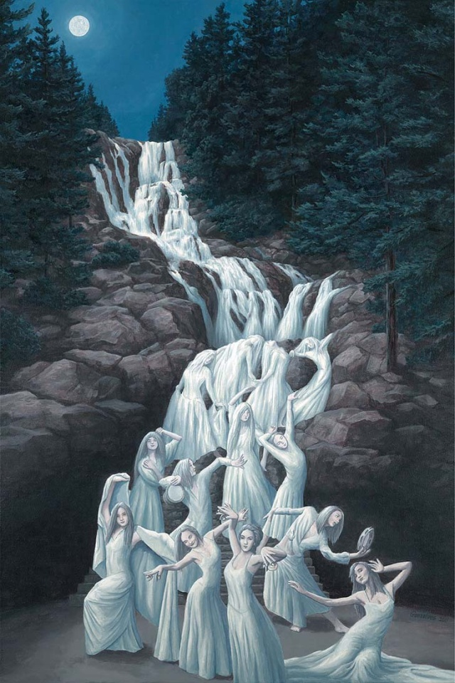 illusions d'optique par Robert Gonsalves 310