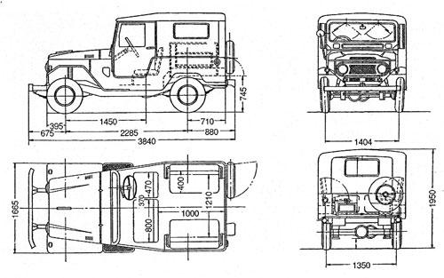 Toyota BJ RC4WD  Spec_410