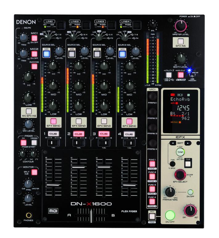 mixer denon DN-X1600 Dn-x1611