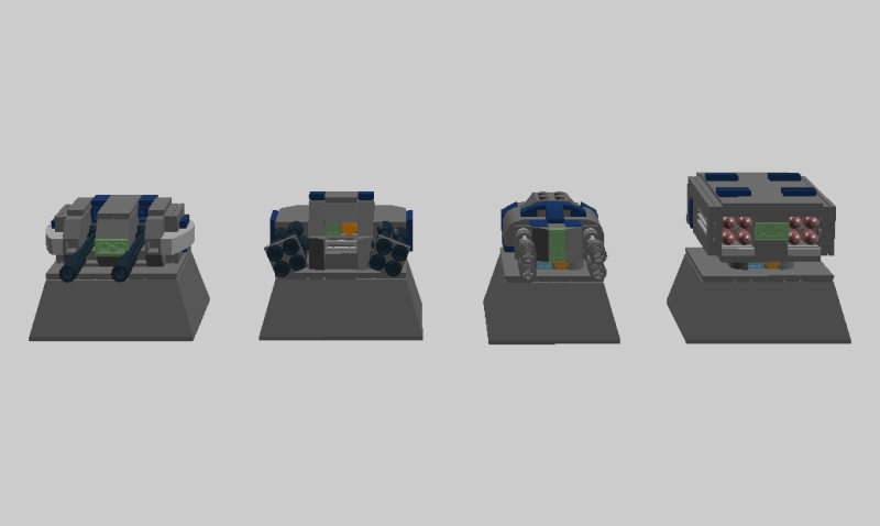 Stationary Defense Emplacements Turret12
