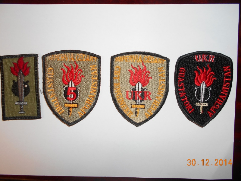 Some assorted Italian patches from former ISAF Dscn0910