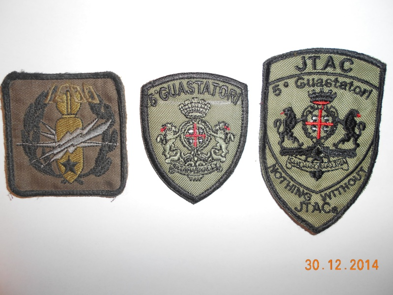Some assorted Italian patches from former ISAF Dscn0911