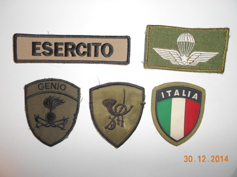 Some assorted Italian patches from former ISAF Dscn0915