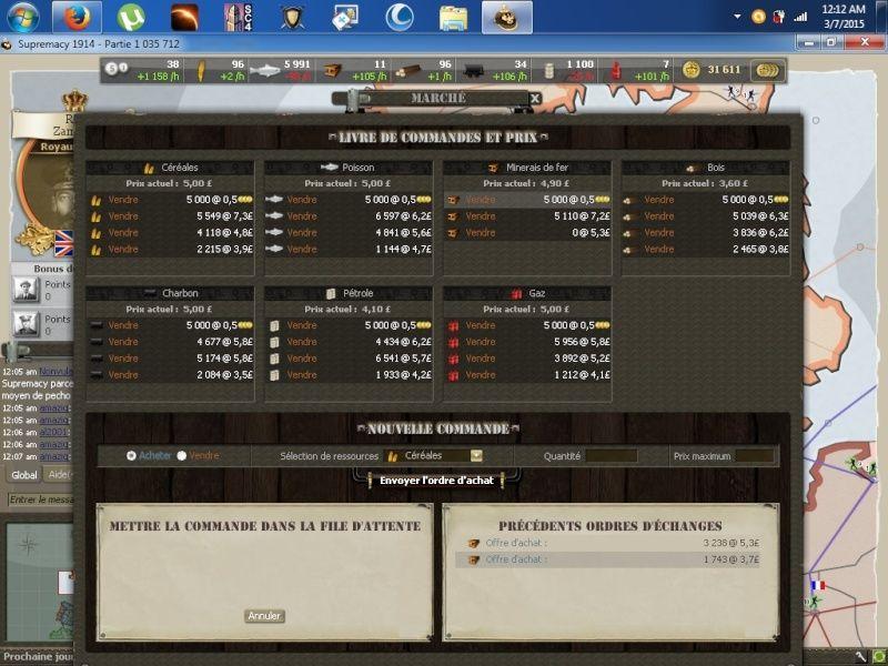Screens match face aux FMC B10