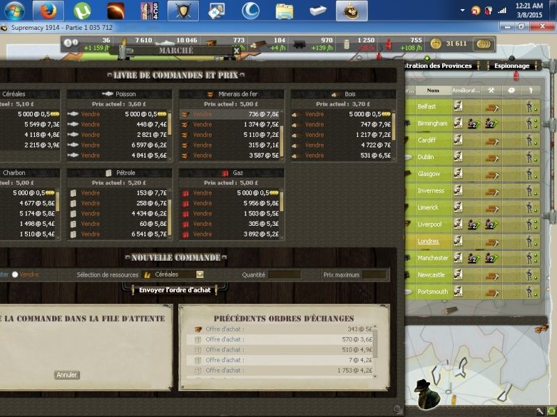 Screens match face aux FMC C10