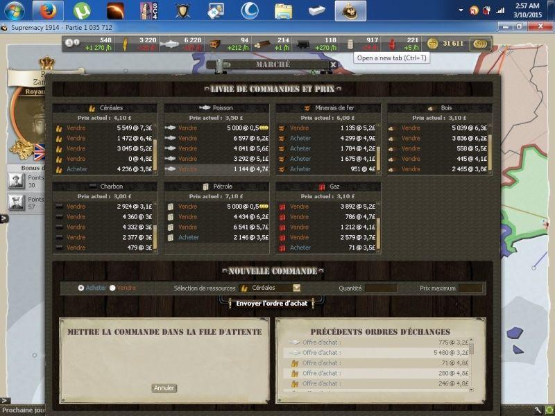 Screens match face aux FMC E10