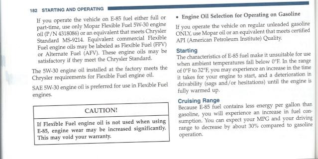 Mon 3.8L n'aime pas l'éthanol 18210