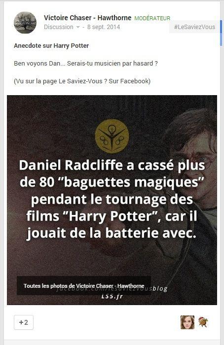 Annecdote Harry Potter D-anne10