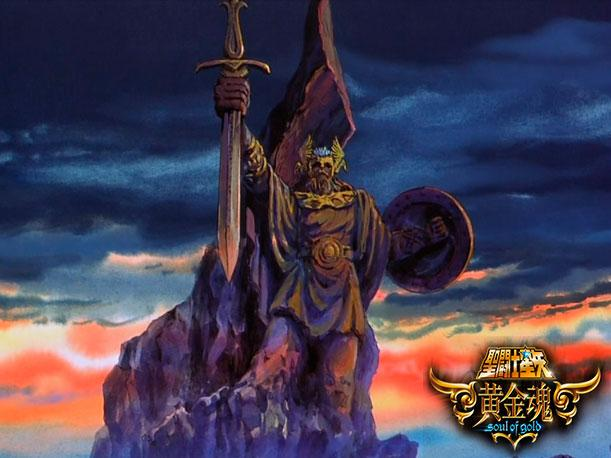 saint seiya soul of gold en asgard? Saint-10