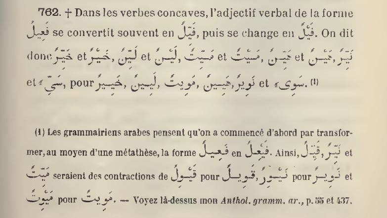 verbe - Est-ce que le mot هيِّن est le اسم الفاعل du verbe هان ? - Page 2 Sifah10