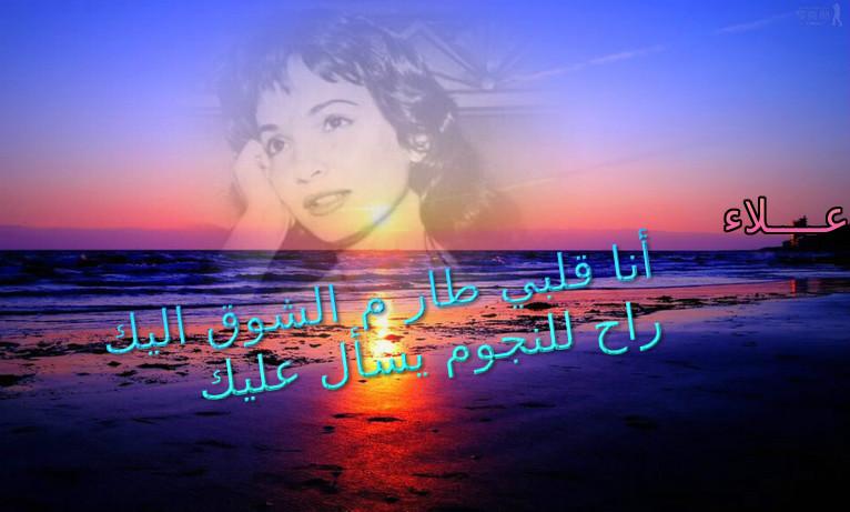حليم وشادية من تصوير علاء 110