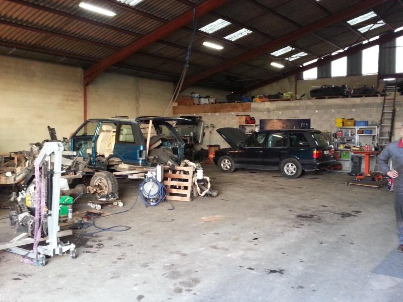 Nouveau garage Land Rover dans le 17 20150212