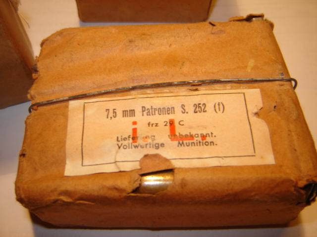 Boites de cartouches Française Germanisé Franca12