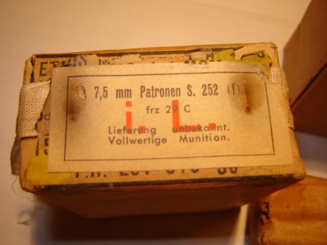 Boites de cartouches Française Germanisé Franca13