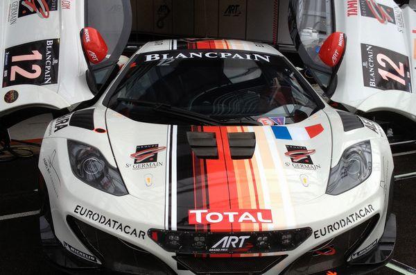 McLaren MP4/12C GT3 ART Grand Prix Kit Fujimi Décal PitWall Img-1310