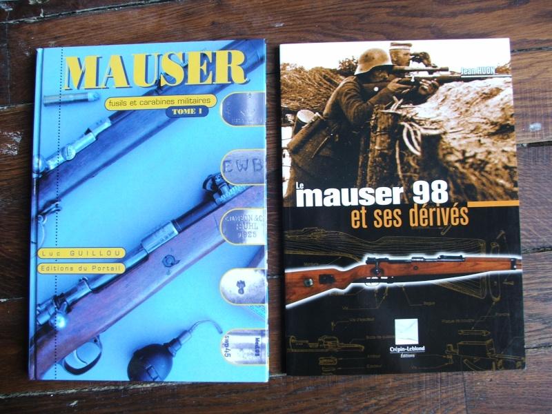 Vends livres sur le Mauser 98 + armes légères + titres Osprey + autres Dscf7811