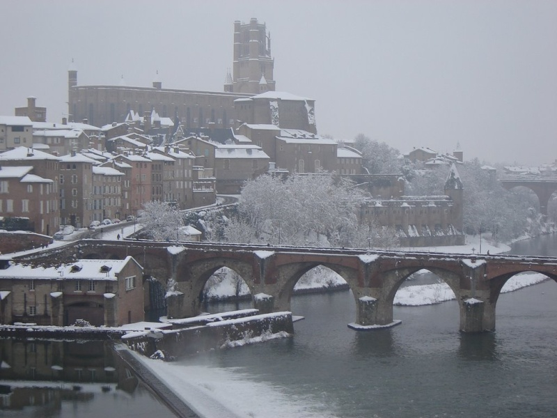 Albi sous la neige  Albi_s10