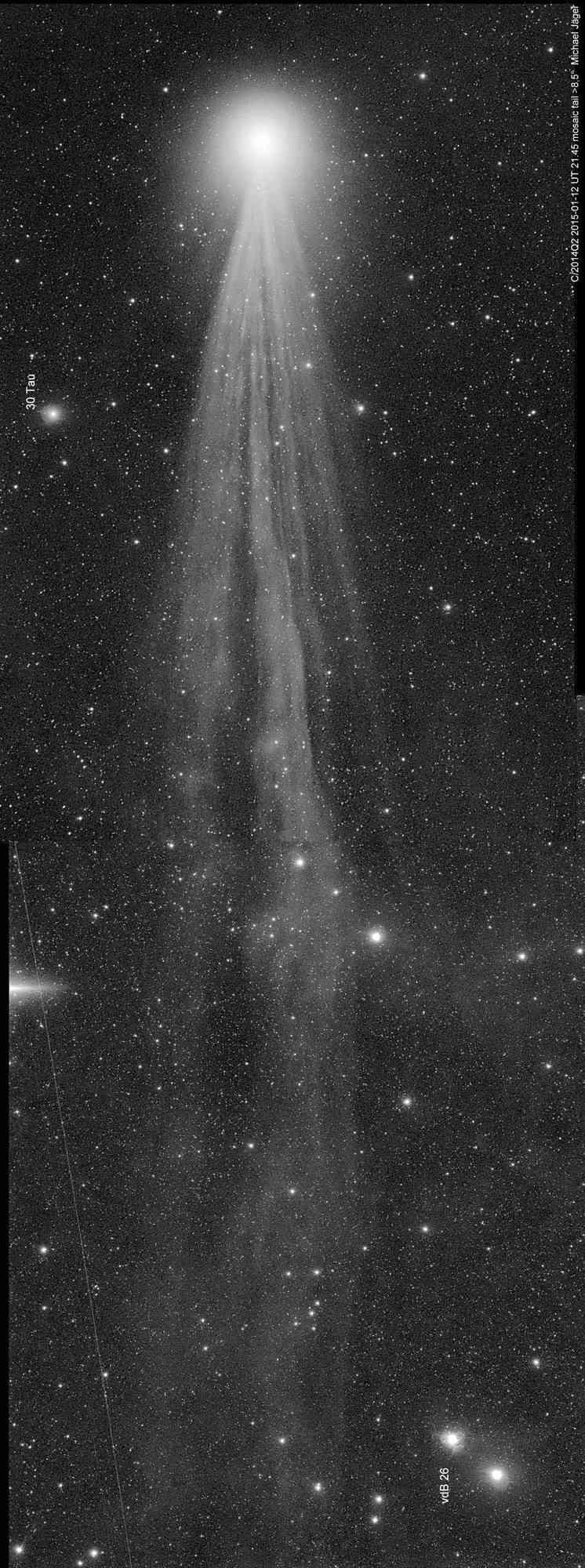 Comète LOVEJOY 140
