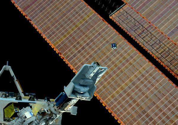 AESP lancé depuis ISS 168