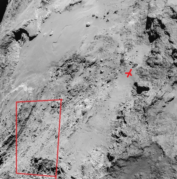 Rosetta : Mission autour de la comète 67P/Churyumov-Gerasimenko  - Page 18 B9-qq011