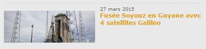 Lancement Soyouz VS11 - Galilleo - 27 mars 2015 - CSG Scree124