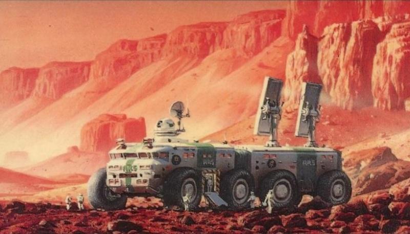 """La trilogie """"Mars la rouge"""" en série TV  Screen51"""