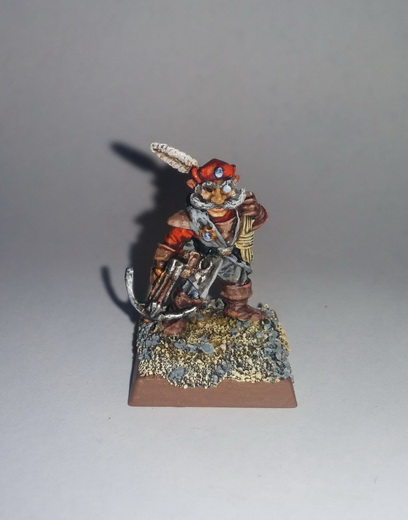 """""""The Bold Rabbits"""" a Halfling Warband 2015-013"""