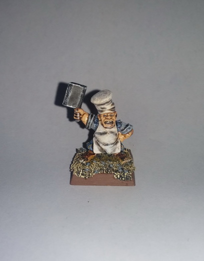 """""""The Bold Rabbits"""" a Halfling Warband 2015-014"""