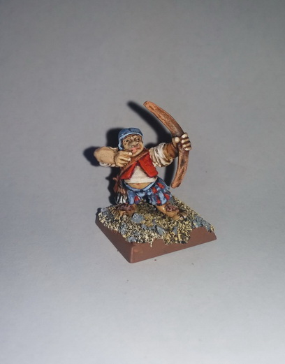"""""""The Bold Rabbits"""" a Halfling Warband 2015-015"""