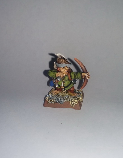 """""""The Bold Rabbits"""" a Halfling Warband 2015-020"""