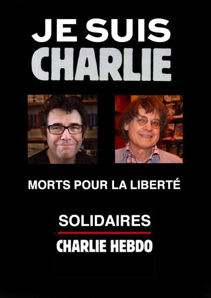 ATTENTAT à Charlie Hebdo : 12 morts. Charli10