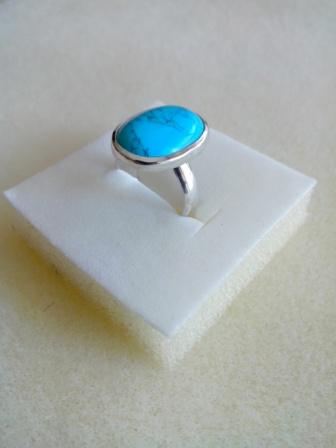 Bague turquoise serti clos Img_2014
