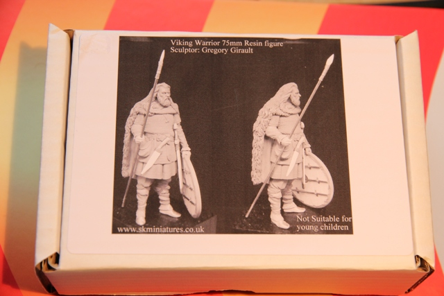 viking warrior 75mm von skminiatures Hunbor10