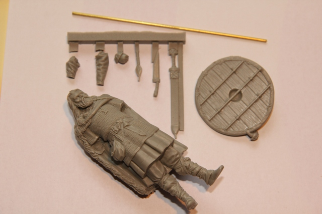viking warrior 75mm von skminiatures Hunbor15