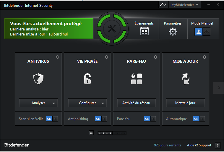 Test BitDefender total security Bitdef10