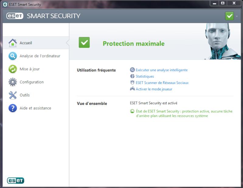 Test et présentation Eset Smart Security Eset-a10