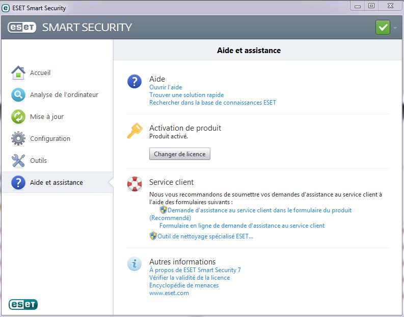Test et présentation Eset Smart Security Eset-a15