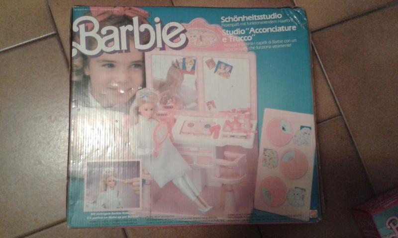 barbie - BARBIE STYLING SALON MATTEL FONDO DI MAGAZZINO 20141234