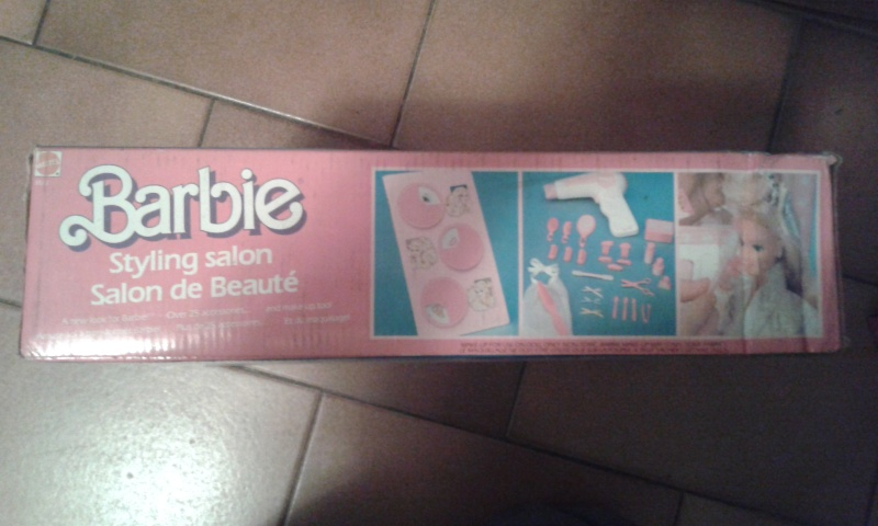 barbie - BARBIE STYLING SALON MATTEL FONDO DI MAGAZZINO 20141235