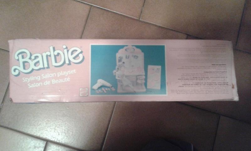 barbie - BARBIE STYLING SALON MATTEL FONDO DI MAGAZZINO 20141237